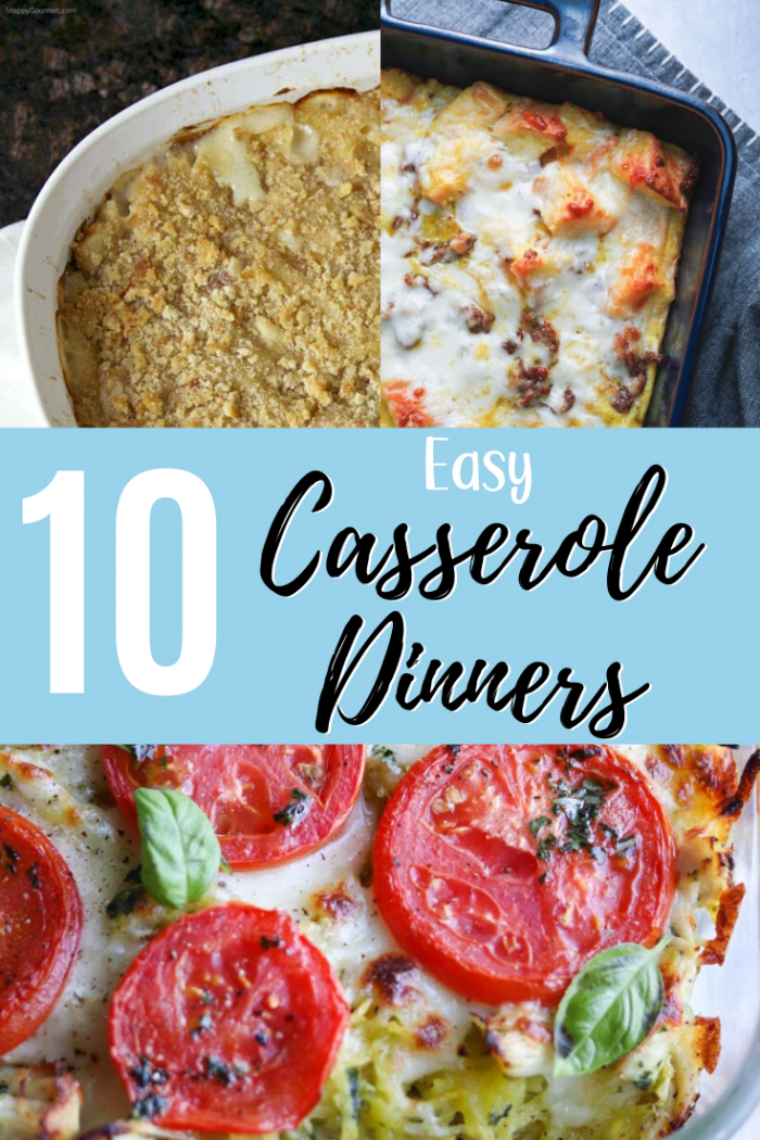 Easy Casserole Dinner Recipes for Families