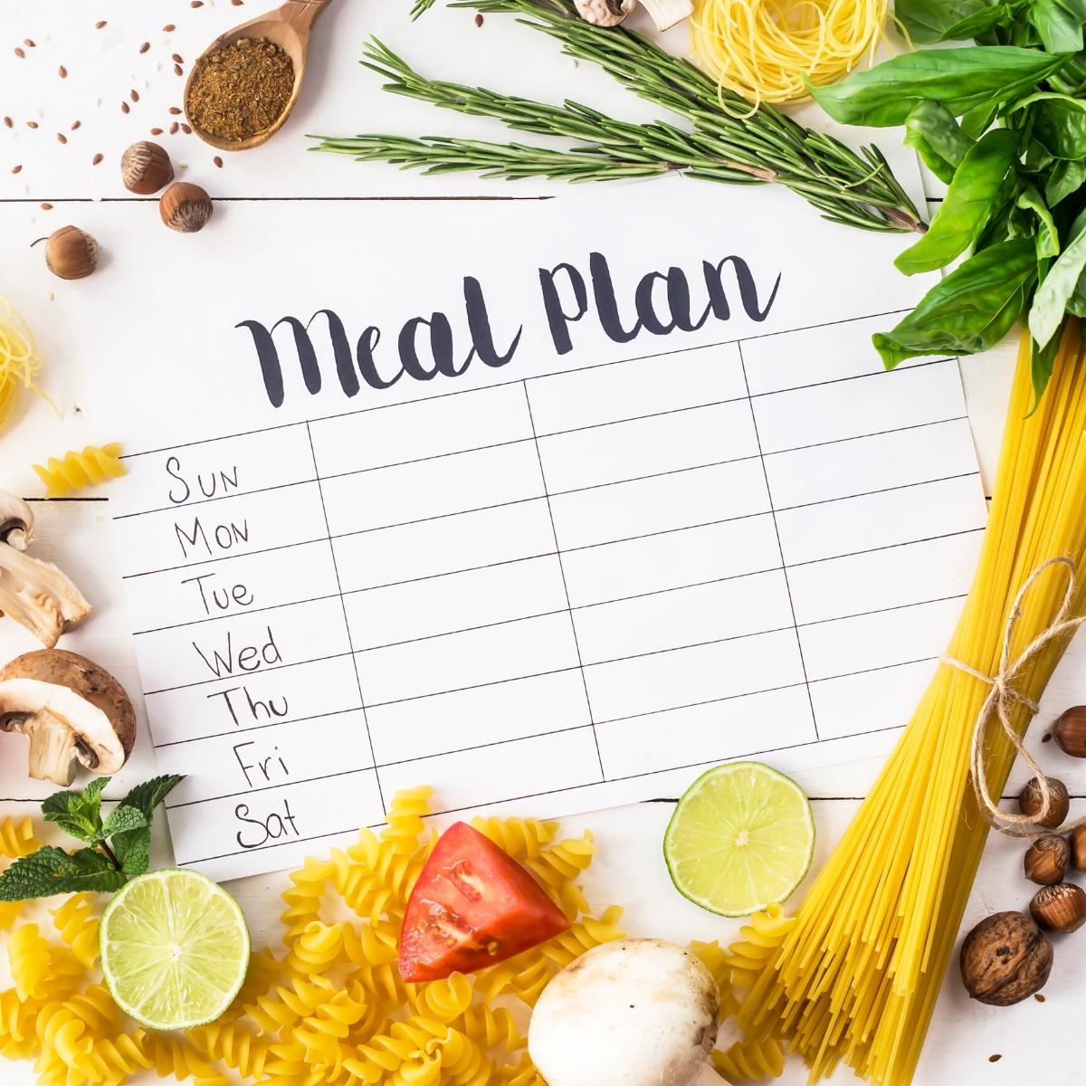How to start meal planning with your family in mind