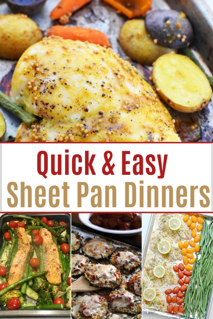 Quick and Easy Sheet Pan DInners for Families