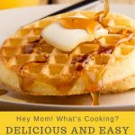 delicious and easy waffle recipe for family breakfasts