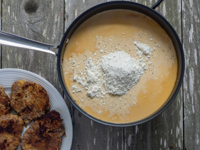 easy gravy to make for the country fried steak