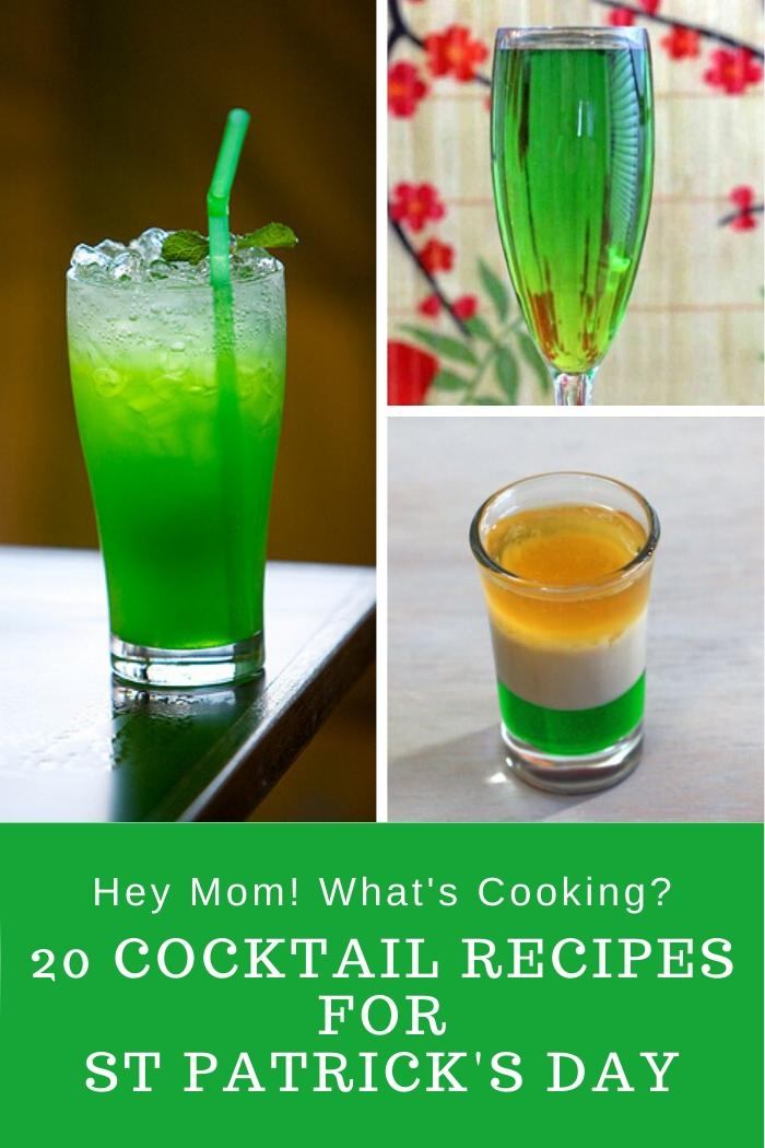 20 Cocktail Recipes for St Patrick's Day