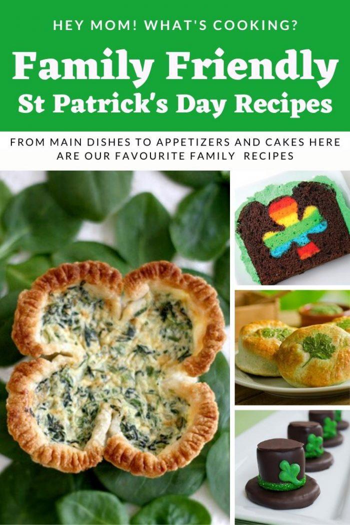 Family Friendly St Patrick's Day Recipes