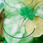 St. Patrick's Day: Shamrock Sour Cocktail