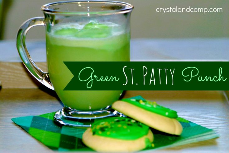 An Easy Punch for St. Patrick's Day