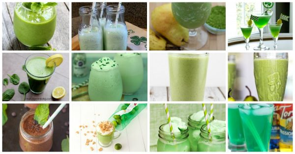 St Patrick's Day Mocktail and Smoothie Recipes for Families