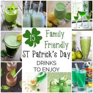 Delicious Non-Alcoholic St Patrick's Day Drinks for all the family
