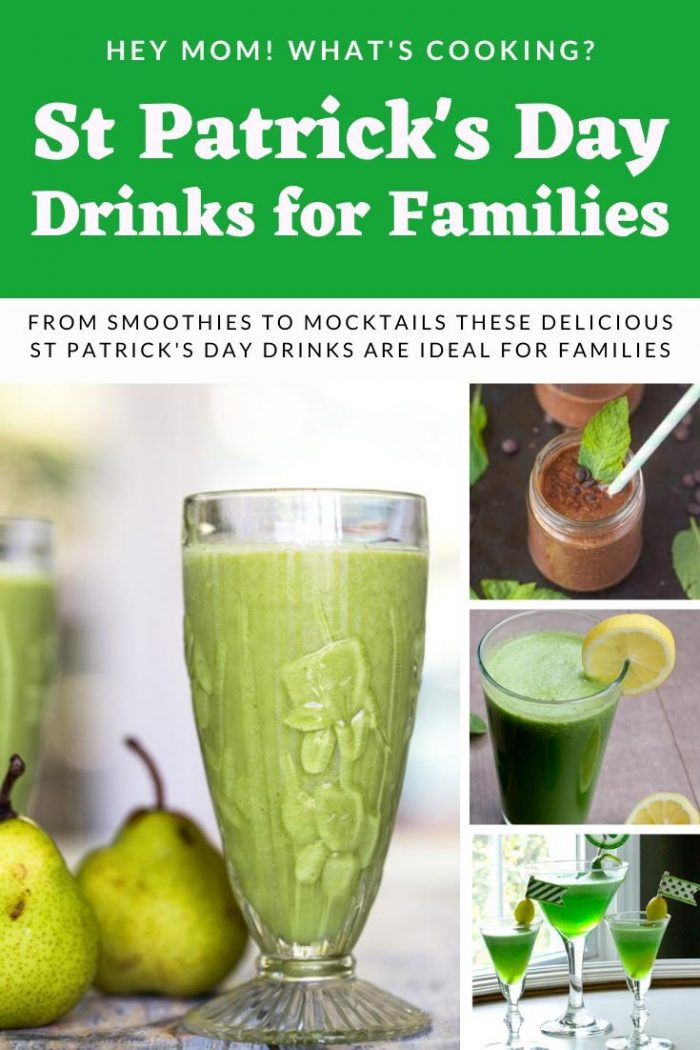 St Patrick's Day Drinks for Families
