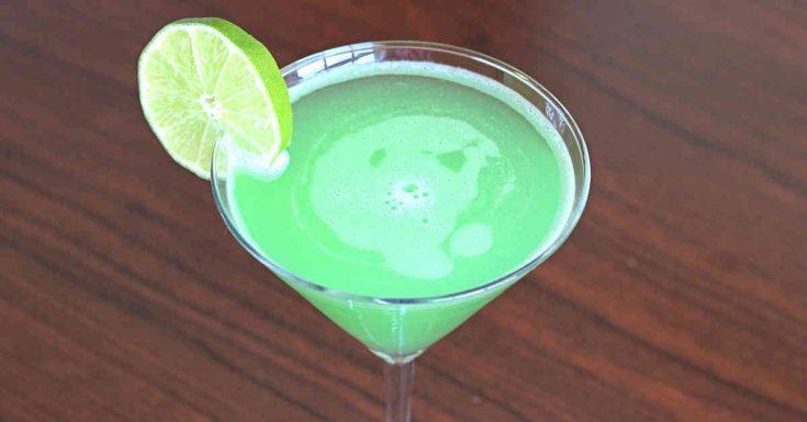 Emerald Rain Drink Recipe Featuring Hpnotiq