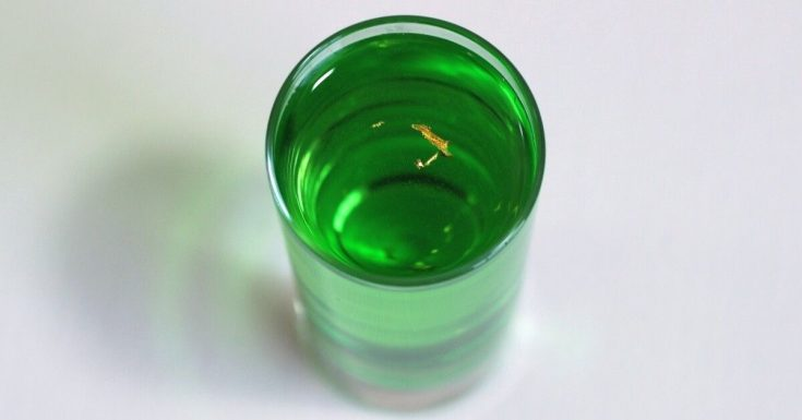 Gold Emerald Shooter recipe