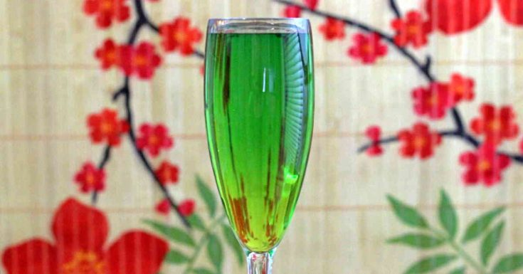 Jade Cocktail Recipe (Two Variations)