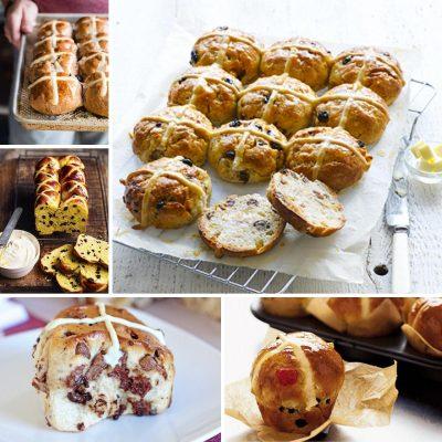 A Dozen Hot Cross Bun Recipes for Easter Baking