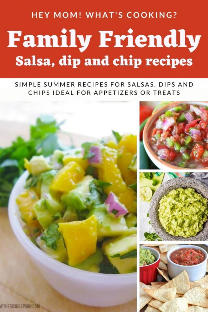 family friendly salsa dip and chip recipes