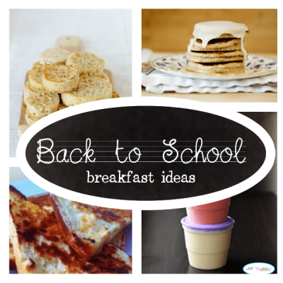 Delicious Breakfast Ideas for School Day Mornings